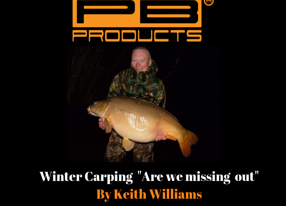"Winter Carping ""Are we missing out"""