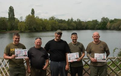 Tim Hickinbottom and Rich Beardmore hit new record at Willow Park over the weekend